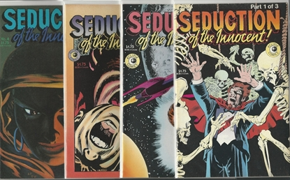 Picture of SEDUCTION OF THE INNOCENT! #1 2 3 4 NM SET ECLIPSE COMICS