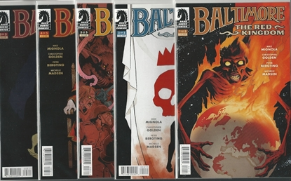 Picture of BALTIMORE THE RED KINGDOM #1-5 SET MIGNOLA NM