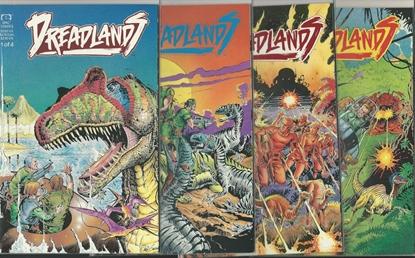 Picture of DREADLANDS #1 2 3 4 COMPLETE FULL SET HIGH GRADE EPIC COMICS