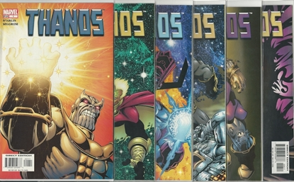 Picture of THANOS (2003) #1 2 3 4 5 6 SET NM STARLIN/MILGROM