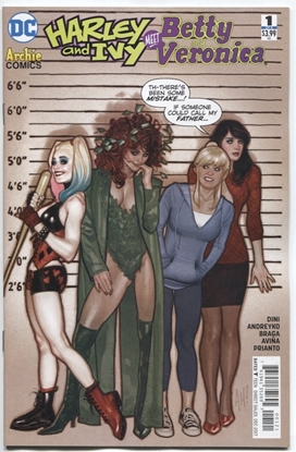 Picture of HARLEY & IVY MEET BETTY & VERONICA #1 (OF 6) VAR ED