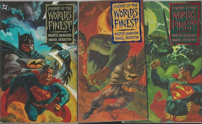 Picture of LEGENDS OF THE WORLD'S FINEST #1 2 3 SIMONSON/BRERETON NM SET