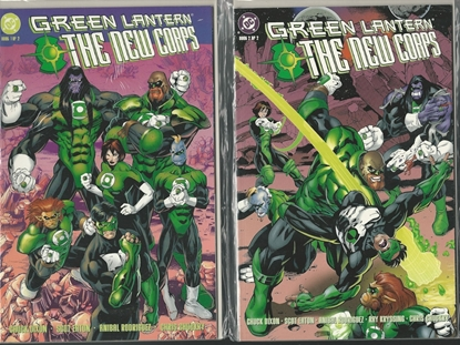 Picture of GREEN LANTERN THE NEW CORPS #1-2 SET NM DIXON/EATON