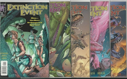 Picture of EXTINCTION EVENT #1 2 3 4 5 WILDSTORM COMIC SET