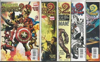 Picture of MARVEL ZOMBIES 2 #1 2 3 4 5 COMPLETE SET MINI SERIES