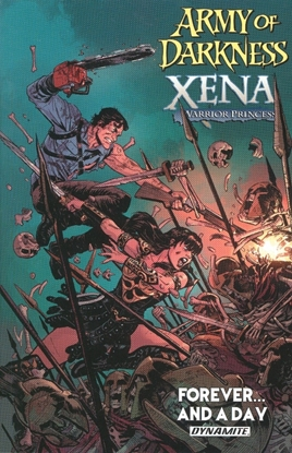 Picture of ARMY OF DARKNESS XENA FOREVER AND A DAY TP