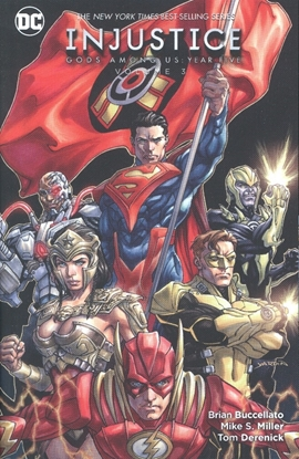 Picture of INJUSTICE GODS AMONG US YEAR FIVE TP VOL 03