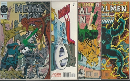 Picture of METAL MEN (1993) #1 2 3 4 JURGENS/BREEDING SET NM