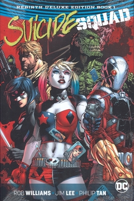 Picture of SUICIDE SQUAD REBIRTH DLX COLL HC BOOK 01