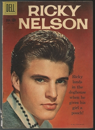 Picture of DELL FOUR COLOR #1115 RICKY NELSON (#1) 4.0 VG TV COMIC