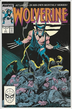 Picture of WOLVERINE (1988) #1 9.0 VF/NM