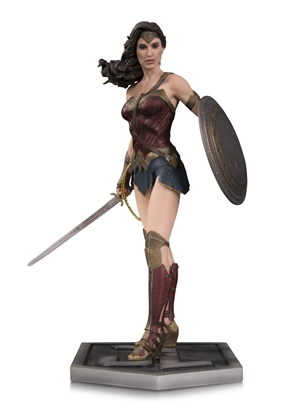 Picture of DC COMICS JUSTICE LEAGUE MOVIE WONDER WOMAN STATUE NEW IN BOX NIB