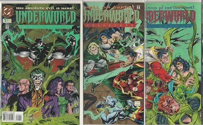 Picture of UNDERWORLD UNLEASHED #1-3  FULL SET MINI SERIES