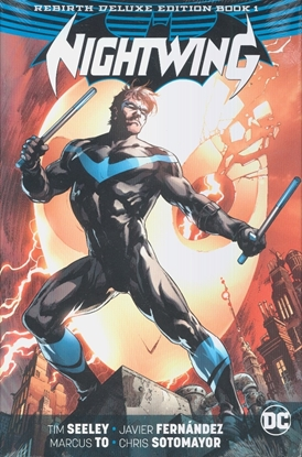 Picture of NIGHTWING REBIRTH DELUXE COLLECTION HC BOOK 1