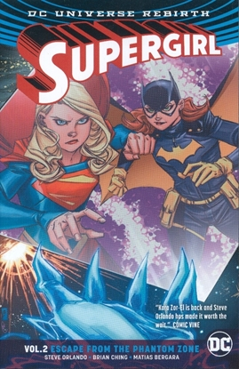 Picture of SUPERGIRL TP VOL 02 ESCAPE FROM THE PHANTOM ZONE (REBIRTH)