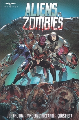 Picture of ALIENS VS ZOMBIES TP