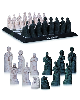 Picture of DC COLLECTIBLES SANDMAN CHESS SET NEW IN BOX NIB