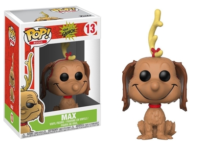 Picture of FUNKO POP BOOKS THE GRINCH MAX #13 NEW VINYL FIGURE
