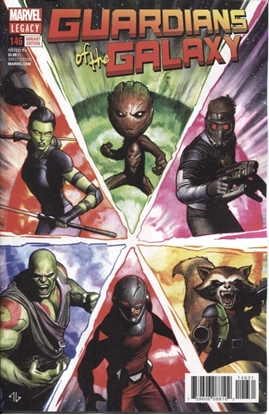 Picture of GUARDIANS OF GALAXY #146 GRANOV VAR LEG