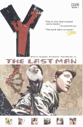 Picture of Y THE LAST MAN TP VOL 01 UNMANNED