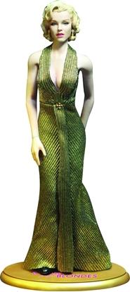 Picture of GENTLEMAN PREFER BLONDES MARILYN MONROE AS LORELEI LEE GOLD DRESS 1:6 SCALE NEW NIB