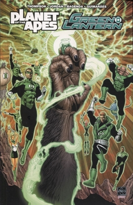 Picture of PLANET OF APES GREEN LANTERN TP (C: 0-1-2)