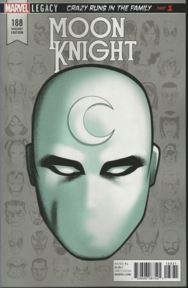 Picture of MOON KNIGHT #188 MCKONE LEGACY HEADSHOT VAR LEG