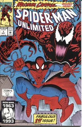 Picture of SPIDER-MAN UNLIMITED (1993) #1 9.2 NM-