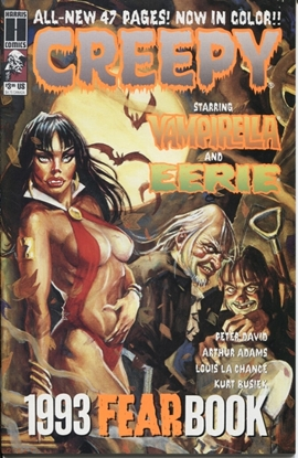Picture of CREEPY 1993 FEARBOOK #1 9.4 NM VAMPIRELLA AND EERIE HARRIS