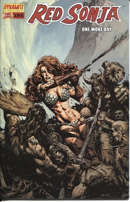 Picture of RED SONJA ONE MORE DAY ONE SHOT COVER B NM-