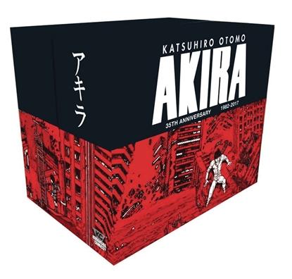 Picture of AKIRA 35TH ANNIVERSARY HC BOX SET (MR)