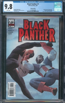 Picture of BLACK PANTHER #1 CGC 9.8 NM/MT LIMITIED EDITION WP