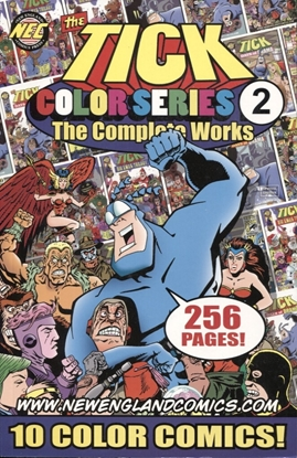 Picture of TICK COLOR SERIES COMPLETE WORKS TP VOL 2