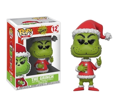 Picture of FUNKO POP BOOKS DR. SEUSS THE GRINCH- THE GRINCH #12 NEW VINYL FIGURE
