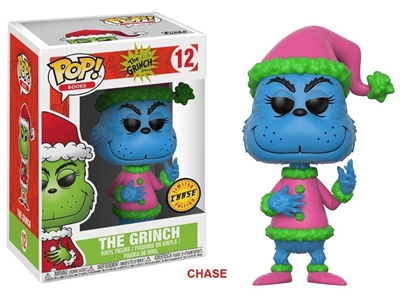 Picture of FUNKO POP BOOKS DR. SEUSS THE GRINCH #12 LIMITED EDITION CHASE NEW VINYL FIGURE