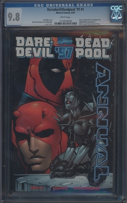 Picture of DAREDEVIL DEADPOOL ANNUAL (1997) 9.8 NM/MT (1110)