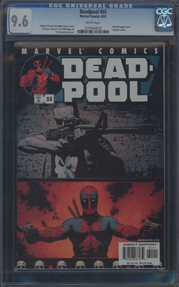 Picture of DEADPOOL (1997) #55 CGC 9.6 NM+ WP (1108)