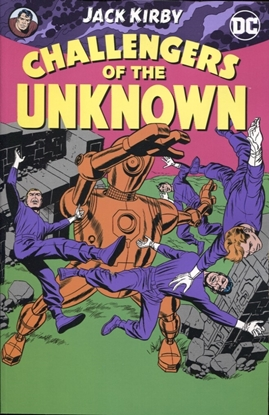 Picture of CHALLENGERS OF THE UNKNOWN BY JACK KIRBY TP