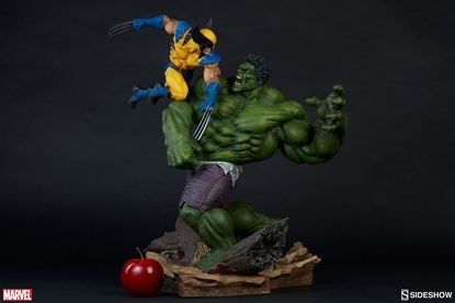 Picture of Hulk and Wolverine - Maquette