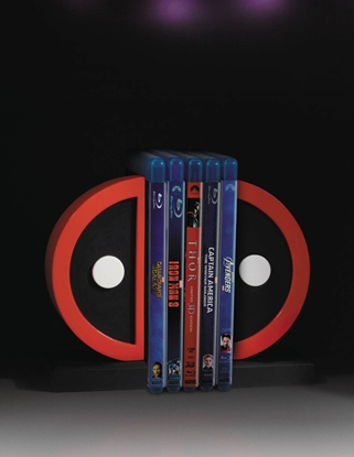 Picture of DEADPOOL LOGO BOOKENDS (NET) (C: 0-1-2)