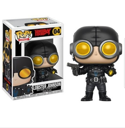 Picture of FUNKO POP COMICS HELLBOY LOBSTER JOHNSON #04 NEW VINYL FIGURE