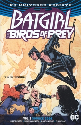 Picture of BATGIRL & THE BIRDS OF PREY TP VOL 02 SOURCE CODE (REBIRTH)