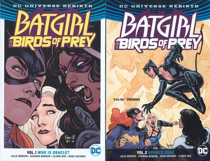 Picture of BATGIRL AND THE BIRDS OF PREY VOL 1-2 TPB SET