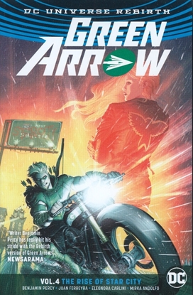 Picture of GREEN ARROW TP VOL 04 THE RISE OF STAR CITY (REBIRTH)