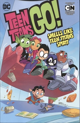 Picture of TEEN TITANS GO TP VOL 04 SMELLS LIKE TEEN SPIRIT