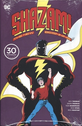Picture of SHAZAM A NEW BEGINNING 30TH ANNIV DLX ED HC