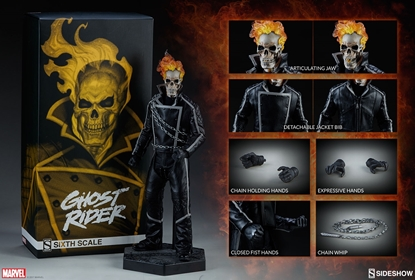 Picture of SIDESHOW GHOST RIDER 1/6 SIXTH SCALE FIGURE MIB