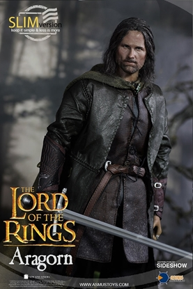 Picture of ASMUS ARAGORN SLIM VERSION SIXTH SCALE FIGURE