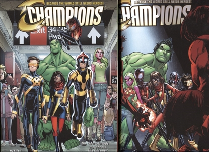 Picture of CHAMPIONS TPB VOL 1-2 SET
