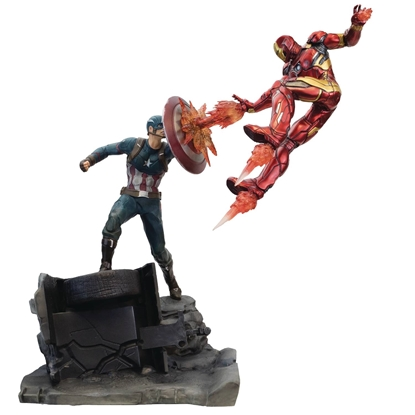Picture of CAPTAIN AMERICA VS IRON MAN PREMIUM MOTION STATUE (MAY178860
